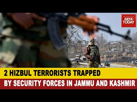 J&K Terrorism: '2 Hizbul Terrorists Trapped, One Of Them Is Son Of A Separatist Leader,' Intel Unit