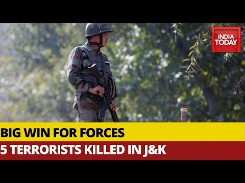 Security Forces Eliminate 9 Terrorists In J&K, 5 Terrorists Killed In Anti-Infiltration Operation