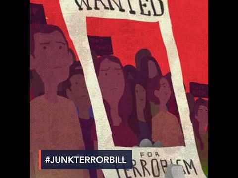 'Dissent is duty, not crime': Filipinos slam anti-terrorism bill
