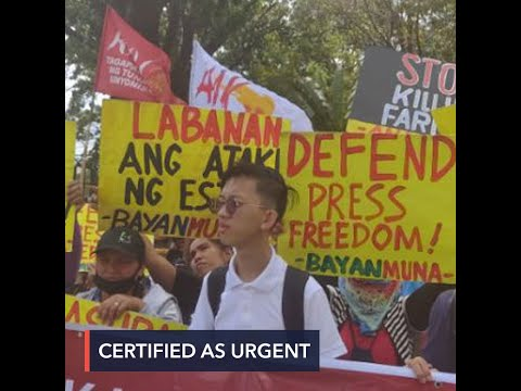 Duterte certifies as urgent anti-terrorism bill feared to clamp down on basic rights