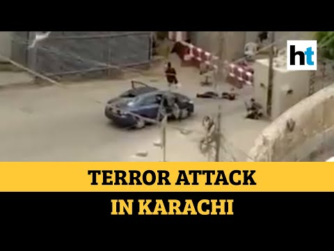 Watch: Terrorists storm Pakistani stock exchange, at least 4 attackers killed