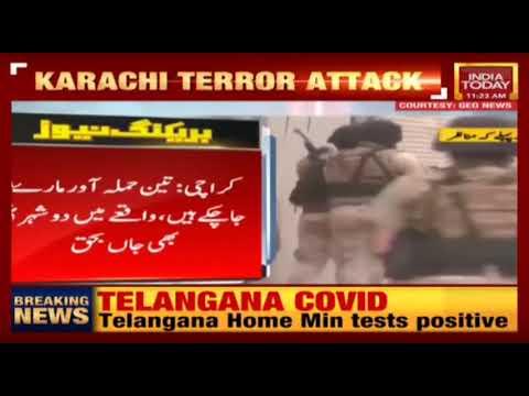 Karachi Terrorist Attack: Terrorists Attack Stock Exchange Building In Pakistan, 5 Killed