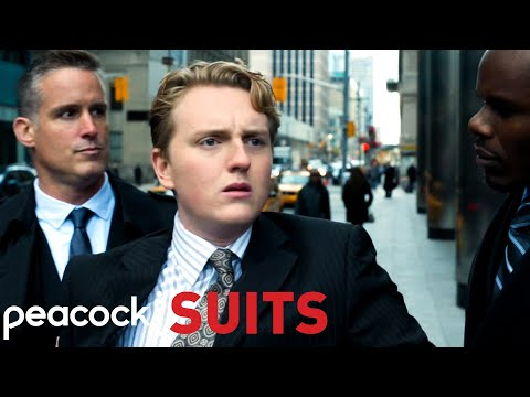 Mike and Harold Are Arrested By Allegations Of Terrorism | Suits
