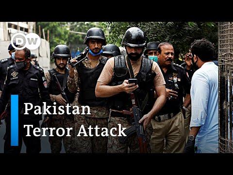 Multiple deaths after terrorist attack on Pakistan Stock Exchange in Karachi | DW News