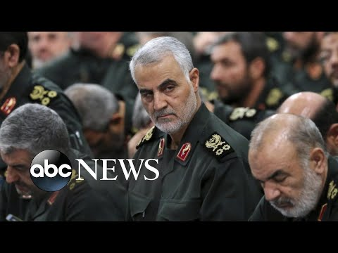 Trump: Slain Iranian general 'No. 1 terrorist … in the world'