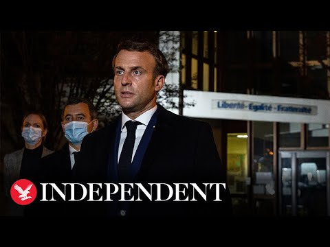 Emmanuel Macron decries 'Islamist terrorist attack'
