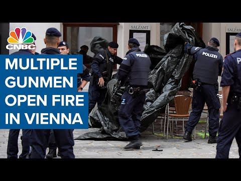 Multiple gunmen open fire in Vienna 'terrorist attack'